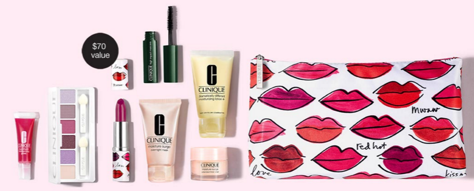 Clinique gift with purchase - 8 pcs with $27 purchase and more - Gift With Purchase