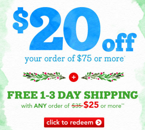 Drugstore.com coupon code 20 off
