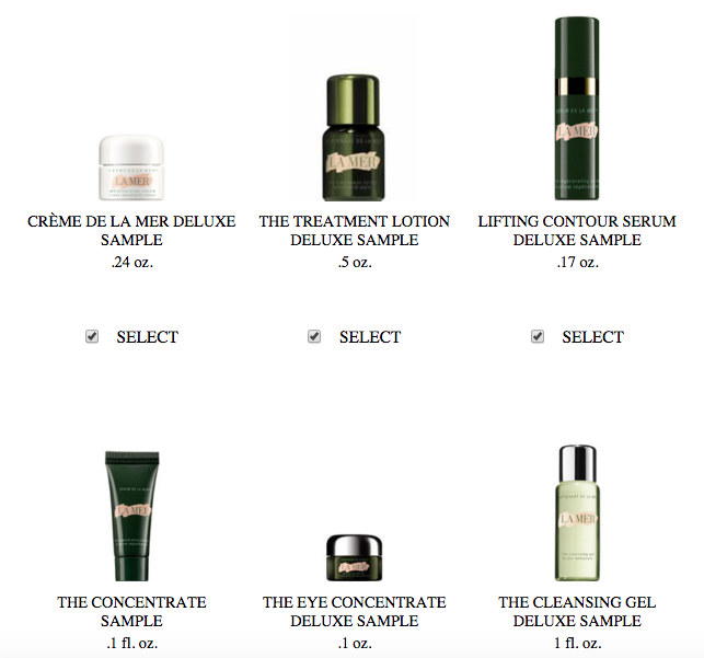 La Mer gift with purchase - 6 pcs with $300 purchase and Saks free ...