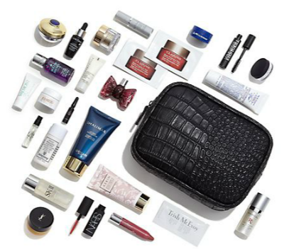 Saks: Samples filled beauty bag with $225 purchase | Gift With ...