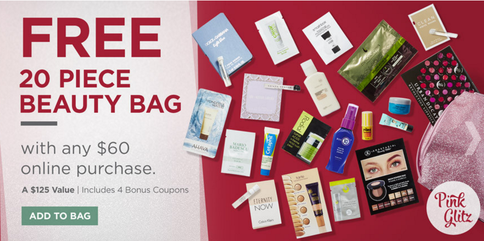 Ulta Cyber Funday Sale - 20 pcs beauty bag + $10 off $60 and more ...