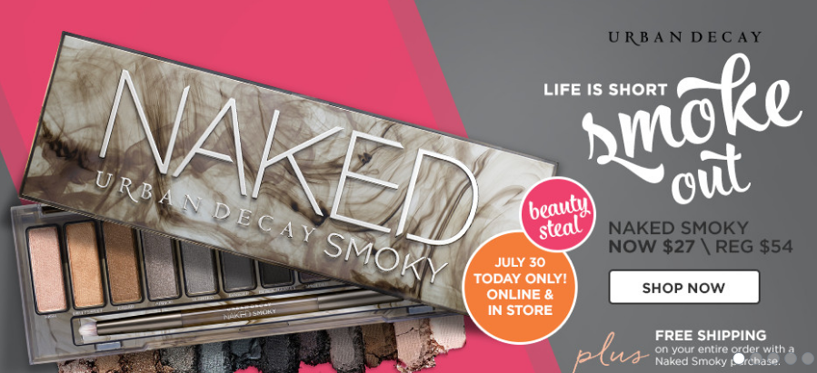 Urban Decay Today's Deals