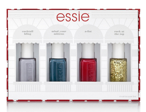 Bonton: 4 pcs essie Gift Set only $6.49(reg. $13) + free shipping - Gift With Purchase