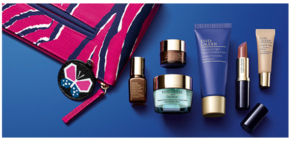 Giltcity Estee Lauder $30 off $100 offer + Free 7 pcs gift set + full-size New Dimension Firm + More - Gift With Purchase