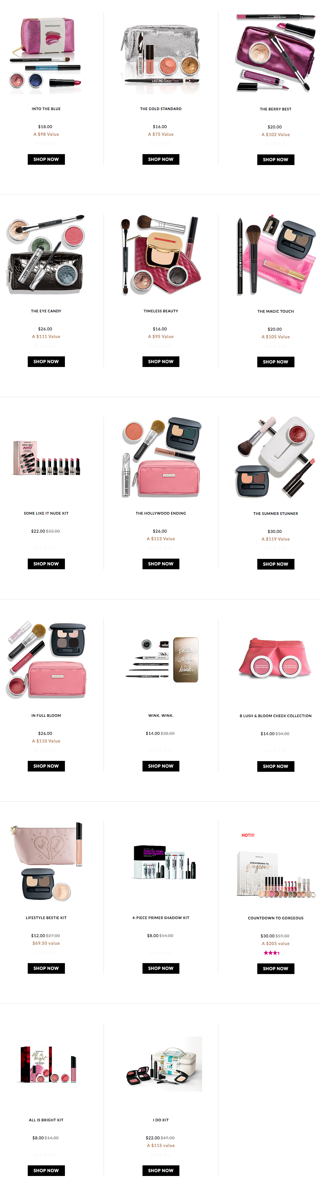 bareMinerals: DEEP discount flash sale + free 5 pcs gift w/$65 purchase - today only - Gift With Purchase