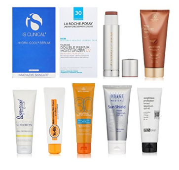 Amazon: Luxury Sun Care Sample Box & Aveeno Sample Box(free after credit) - Gift With Purchase
