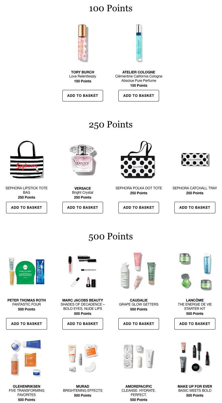 Sephora Gift With Purchase Update 12 10 2 New Codes